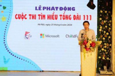 Câu hỏi cho Cuộc thi tìm hiểu về Tổng đài điện thoại quốc gia bảo vệ trẻ em (Tổng đài 111)
