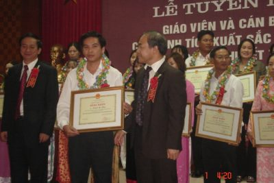 Lễ tuyên dương Giáo viên và Cán bộ Quản lý đạt thành tích xuất sắc trong công tác Giáo dục trẻ khuyết tật toàn quốc lần thứ 2