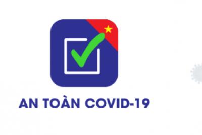 """Hướng dẫn cài đặt sử dụng """"An toàn Covid-19"""" dành cho thiết bị di động Android và IOS"""