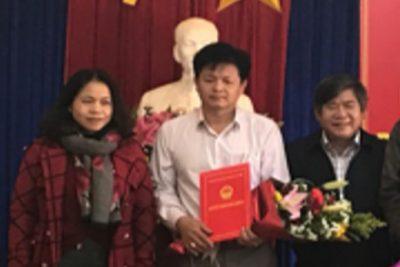 Giới thiệu chức danh và chữ ký của Trưởng Phòng GD&ĐT huyện Ngọc Hồi