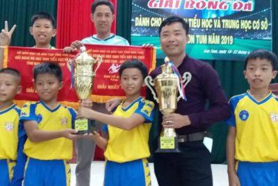 Huyện Ngọc Hồi đạt thành tích xuất sắc tại Giải bóng đá học sinh tiểu học và THCS tỉnh Kon Tum NH 2018-2019