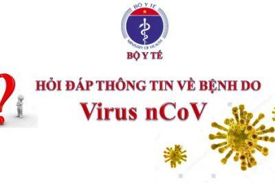 Cẩm nang hỏi – đáp thông tin về bệnh viêm đường hô hấp cấp do chủng mới vi rút Corona (nCoV)