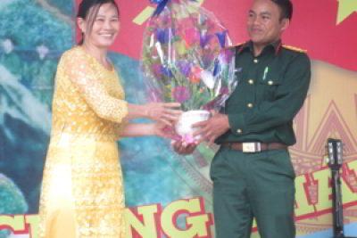 Cô giáo Tràng An nơi ngã ba biên giới
