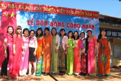 Trường Tiểu học Đắk Xú vững bước trong sự nghiệp trồng người