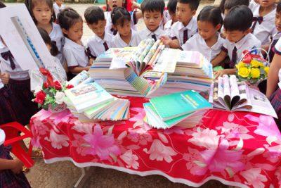 Trường Tiểu học Nguyễn Bá Ngọc hưởng ứng ngày sách Việt Nam năm 2021