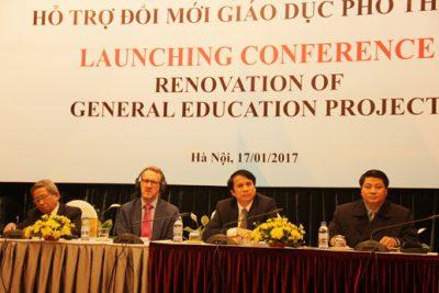 Thông tin chung về dự án Hỗ trợ đổi mới giáo dục phổ thông (RGEP)
