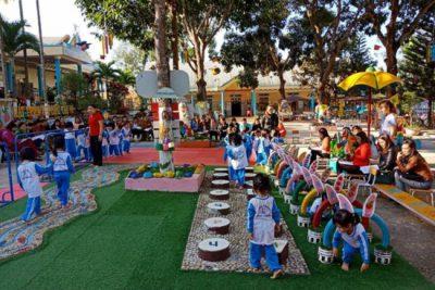 Một số biện pháp thực hiện hiệu quả chuyên đề phát triển vận động cho trẻ ở trường Mầm non Hoa Hồng