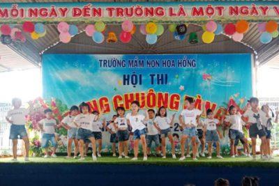 """Trường MN Hoa Hồng tổ chức thành công Hội thi """"rung chuông vàng"""" lần thứ II năm học 2020-2021"""