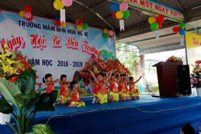 Học sinh huyện Ngọc Hồi tưng bừng khai giảng năm học mới 2018-2019