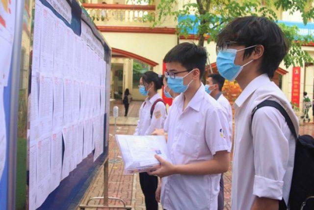 Trường THPT Nguyễn Trãi (Ngọc Hồi): Danh sách niêm yết phòng thi tuyển sinh vào lớp 10, năm học 2021 – 2022