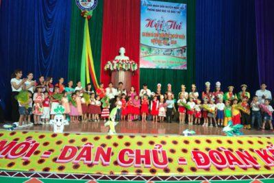Hội thi Gia đình và dinh dưỡng trẻ thơ