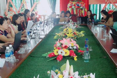Hội nghị tập huấn công tác kiểm định chất lượng giáo dục và công nhận trường đạt chuẩn quốc gia