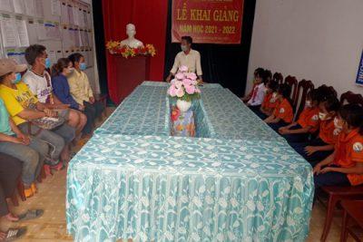 20 học sinh huyện Ngọc Hồi được nhận học bổng Quỹ bảo trợ trẻ em Việt Nam năm 2021