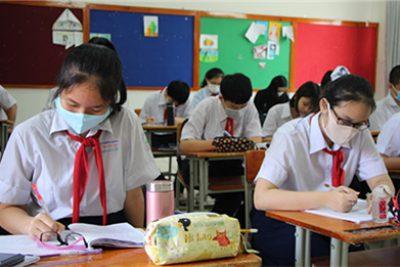 Lịch kiểm tra cuối kì I năm học 2020-2021 (đối với cấp THCS)