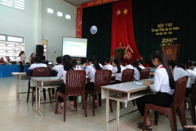 Trường THCS Lý Tự Trọng tổ chức Cuộc thi OTE năm học 2019-2020