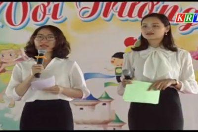 Về với Trường mầm non Hoa Hồng, thị trấn Plei Kần, huyện Ngọc Hồi (Kon Tum)