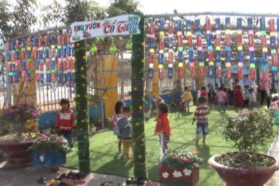 Hoạt động hội thi xây dựng môi trường lấy trẻ làm trung tâm của Trường MN Bình Minh (Ngọc Hồi)