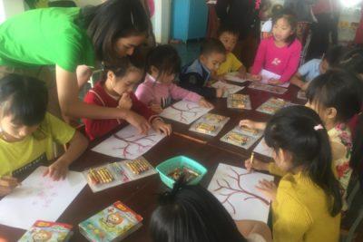 Trường Mầm non Chơ Rao mời phụ huynh tham quan, dự giờ lớp học