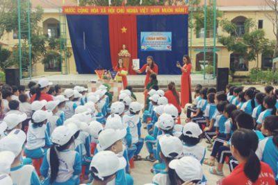 Năm học 2020-2021 học sinh mầm non, lớp 1, lớp 6 trên địa bàn huyện Ngọc Hồi sẽ được học ở trường nào ?