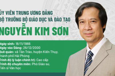 Thư của Bộ trưởng Bộ Giáo dục và Đào tạo Nguyễn Kim Sơn gửi các nhà giáo
