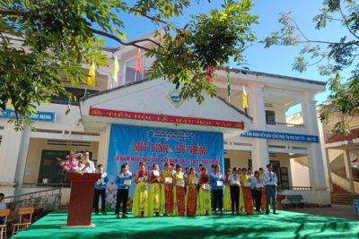 Trường PTDTBT THCS Ngô Quyền tổ chức Lễ mít tinh kỷ niệm 38 năm ngày Nhà giáo Việt Nam (20/11/1982-20/11/2020)