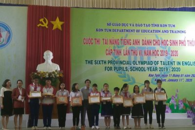 13 học sinh huyện Ngọc Hồi tham dự Olympic tài năng tiếng Anh cấp tỉnh lần thứ VI