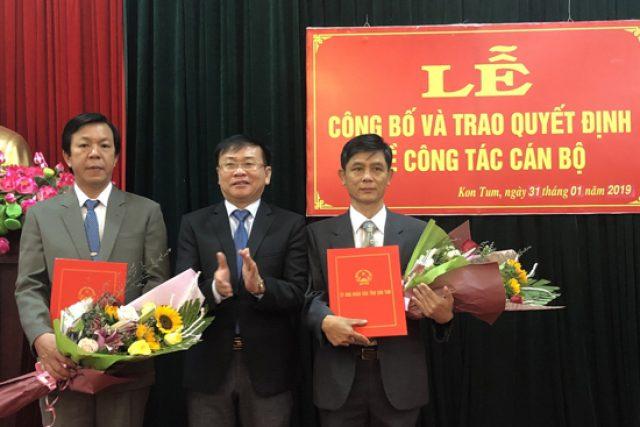 Đồng chí Đoàn Thành Nhân được bổ nhiệm giữ chức vụ Phó Giám đốc Sở Giáo dục và Đào tạo