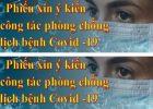 BTG Tỉnh ủy Kon Tum tổ chức điều tra DLXH trực tuyến về công tác phòng, chống dịch bệnh Covid-19