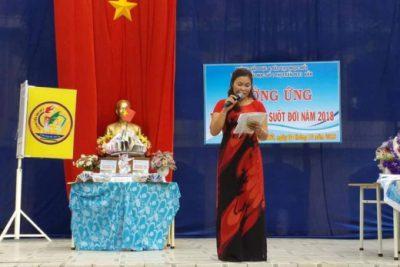 Trường Tiểu học Số 2 Thị trấn Plei Kần phát động tuần lễ hướng ứng học tập suốt đời