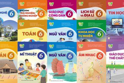 Trường THCS Nguyễn Thị Minh Khai: SGK lớp 6 sử dụng trong năm học 2021-2022