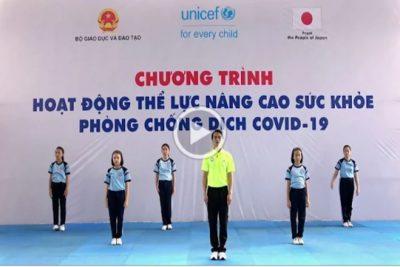 Video 03: Bài thể dục cho HS THCS nâng cao sức khỏe phòng chống dịch Covid-19