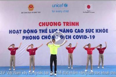 Video 04: Bài thể dục cho HS THCS nâng cao sức khỏe phòng chống dịch Covid-19