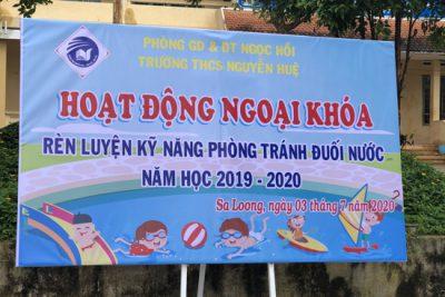 Trường THCS Nguyễn Huệ tăng cường phòng chống tai nạn đuối nước cho học sinh