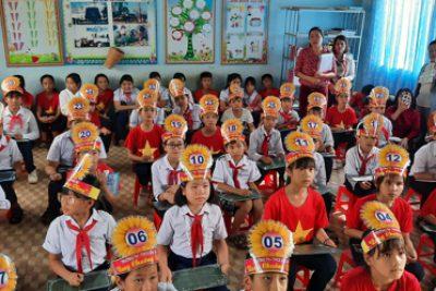 """Trường TH-THCS Đắk Xú tổ chức Hội thi """"Rung chuông vàng"""" lần thứ I, năm học 2020-2021"""