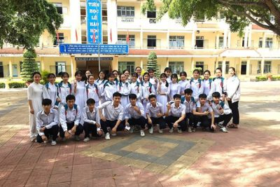 Năm học 2020 – 2021 Trường THPT Nguyễn Trãi (huyện Ngọc Hồi) tuyển 340 học sinh lớp 10