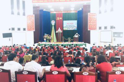 Không tổ chức đón tiếp khách, không nhận hoa, quà chúc mừng của các tổ chức và cá nhân tại cơ quan Phòng nhân Kỷ niệm 37 năm ngày Nhà giáo Việt Nam (20/11/1982-20/11/2019)