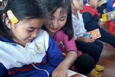 Ngày hội đọc sách lần thứ 7 (năm 2020) tại Trường Tiểu học Trần Quốc Toản