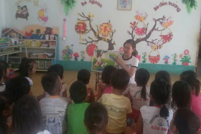 Một số biện pháp phát triển ngôn ngữ  trẻ lớp mẫu giáo lớn (mầm non Đắk Ang)