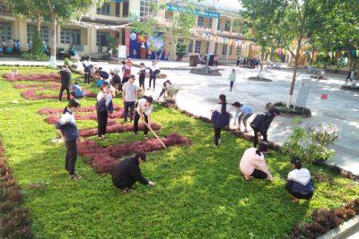 """Trường THCS Lý Tự Trọng tổ chức Lễ phát động """"Tết trồng cây đời đời nhớ ơn Bác Hồ"""""""