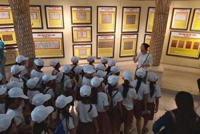 Liên đội Trường tiểu học Nguyễn Huệ tổ chức tham quan trải nghiệm cho học sinh