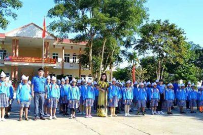 Trường TH Lê Văn Tám tham quan doanh trại Quân đội nhân dân Việt Nam