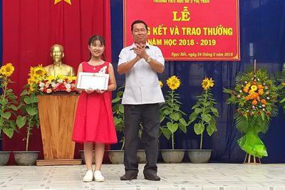Phạm Thị Thùy Trang cô học trò tài năng