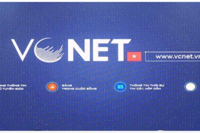 Tham gia sử dụng mạng VCNET