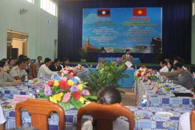 Hội nghị đánh giá nội dung ký kết và triển khai các hoạt động giao lưu TDTT giữa hai trường THCS Bờ Y và trường THCS – THPT Nang Hèo