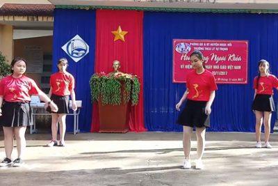 Trường THCS Lý Tự Trọng ngoại khóa kỷ niệm 35 năm ngày Nhà giáo Việt Nam (20/11/1982-20/11/2017)