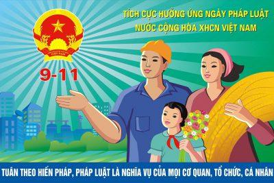 Nội dung tuyên truyền Ngày Pháp luật nước Cộng hòa xã hội chủ nghĩa Việt Nam  năm 2020