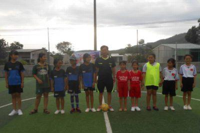 Giải bóng đá mini nam nữ năm học 2017-2018