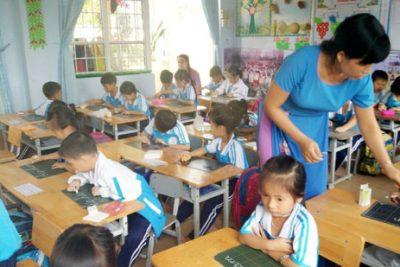 Mấy vấn đề trao đổi để việc dạy học 2 buổi/ngày, hơn 5 buổi/tuần ở trường tiểu học thực sự có hiệu quả