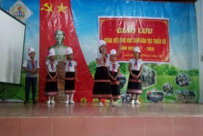 """Kết quả triển khai Đề án """"Tăng cường tiếng Việt  cho trẻ MN, học sinh tiểu học vùng DTTS giai đoạn 2016-2020, định hướng đến năm 2025 trên địa bàn huyện Ngọc Hồi"""""""