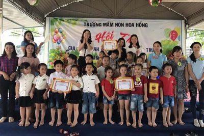 Hội thi Gia đình dinh dưỡng trẻ thơ năm học 2017 – 2018